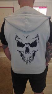 skulls vest